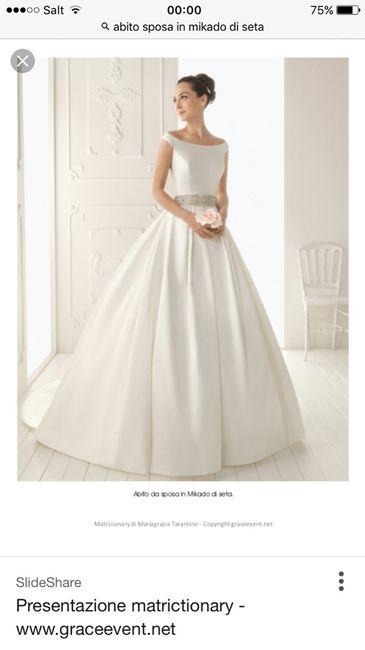b1743ac2a5b7 La stoffa dell'abito da sposa ne fa il prezzo? - Moda nozze - Forum ...