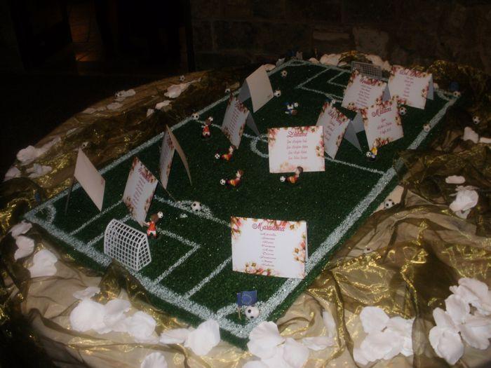 Matrimonio Tema Calcio : Tableau calcistico uff organizzazione matrimonio