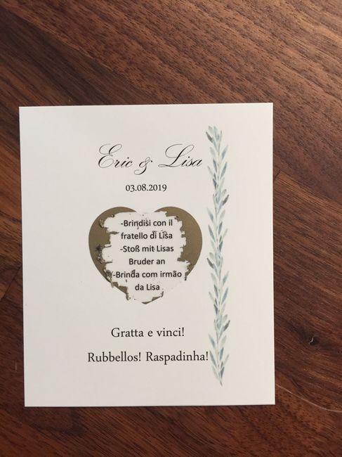 Segnaposto Matrimonio Gratta E Vinci.Gratta E Vinci Prontiiii Fai Da Te Forum Matrimonio Com