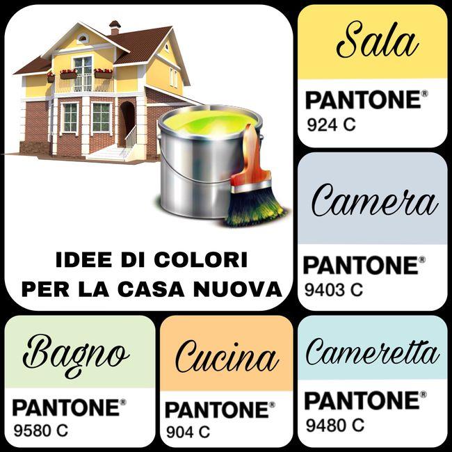 Idee colori casa nuova vivere insieme forum for Idee per casa nuova