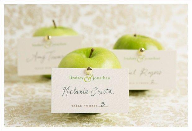 Segnaposto Matrimonio Mela Verde.Matrimonio A Tema Mele Organizzazione Matrimonio Forum