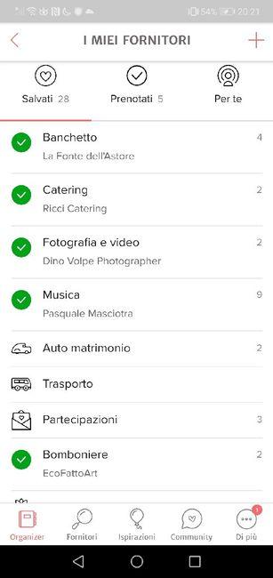 Condividi lo screenshot dei tuoi fornitori 18