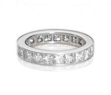 Anello platino e diamanti