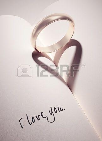 Anello di fidanzamento una fede