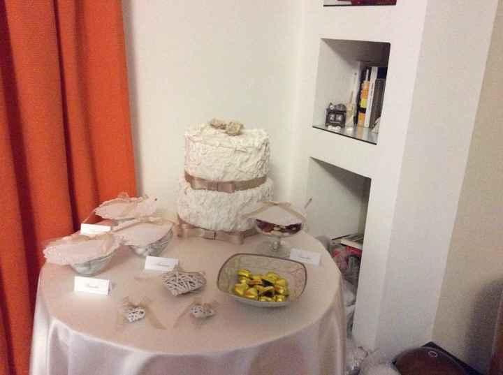 Miniconfettata casa sposa