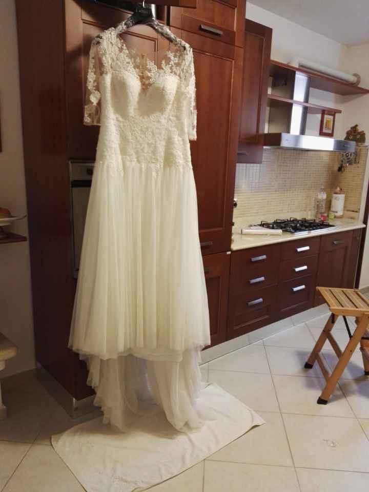 Lavare abito da sposa - 1