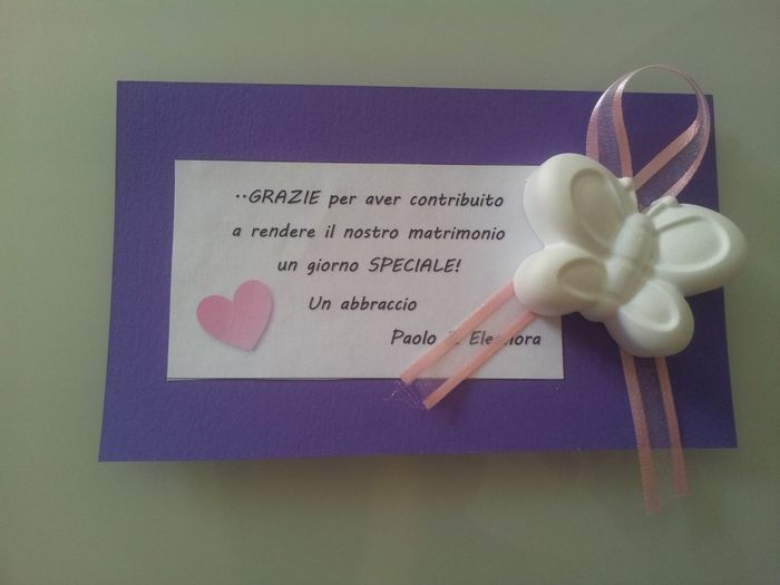 Top Biglietti di ringraziamento - Fai da te - Forum Matrimonio.com KR94