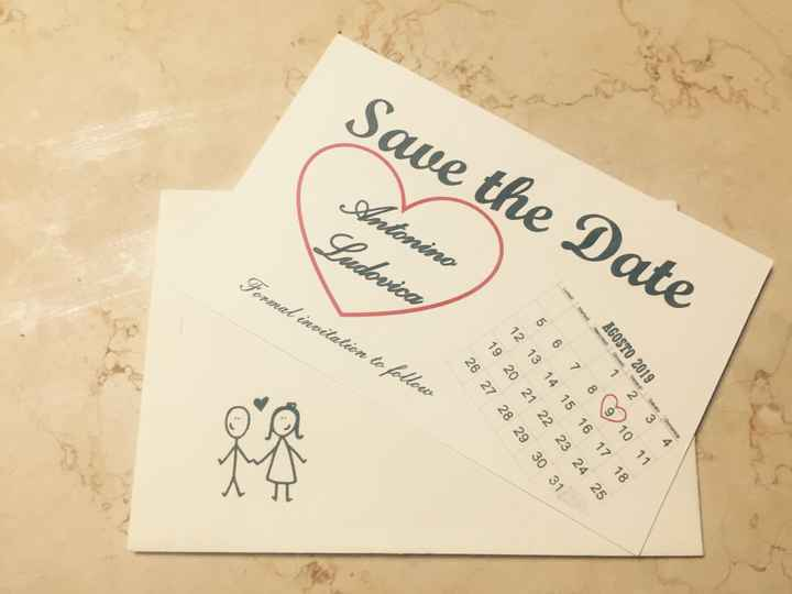 Save the Date prontiii❤ - 1
