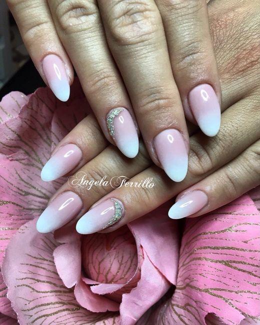 Che forma di unghie avete scelto per il vostro matrimonio? - 1