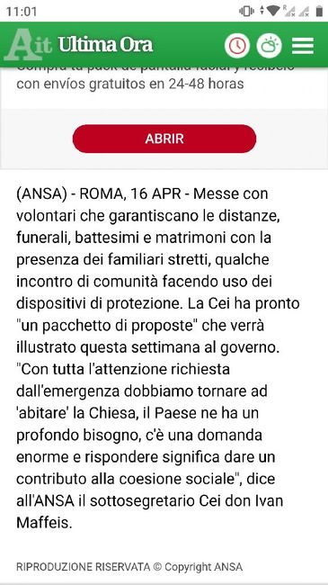 Notizia Ansa - 1