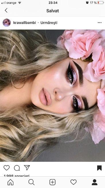 Trucco sposa colore rosa 6