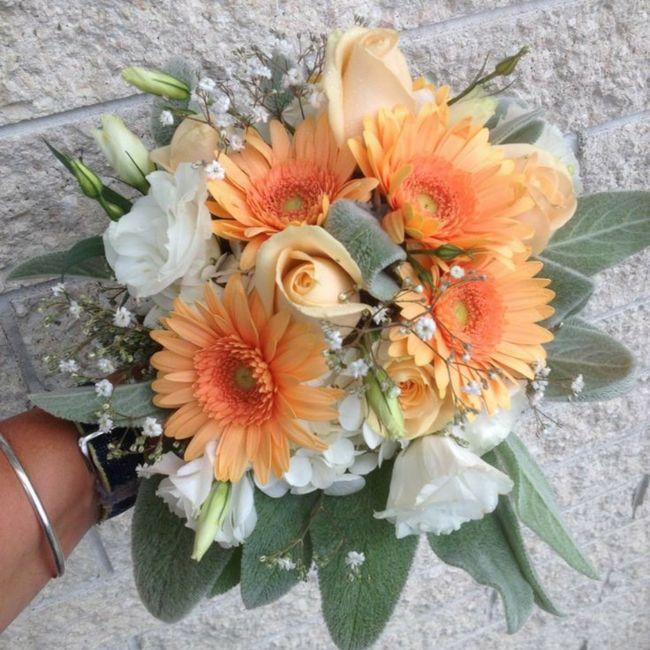 Gerbera come fiore per il mio bouquet da sposa? 1