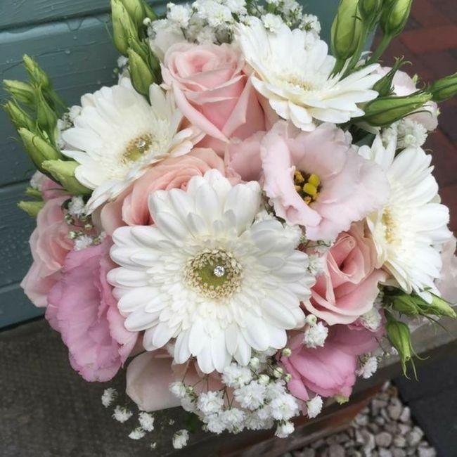 Gerbera come fiore per il mio bouquet da sposa? 2