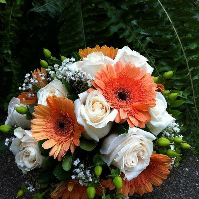 Gerbera come fiore per il mio bouquet da sposa? 8