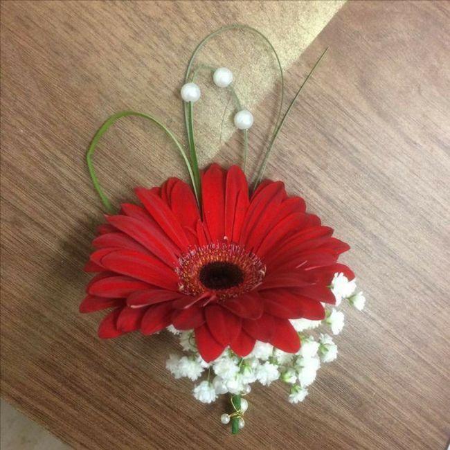 Gerbera come fiore per il mio bouquet da sposa? 12