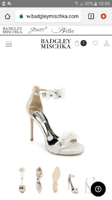 Brand scarpe sposa? 1