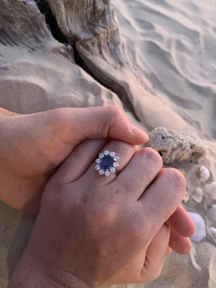 Che tipo di anello hai ricevuto alla proposta? 4