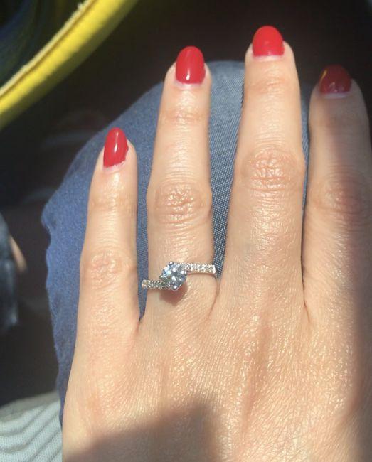 Che tipo di anello hai ricevuto alla proposta? - 1