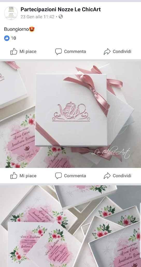 Partecipazioni in scatola con confetti...chi li fa? - 1