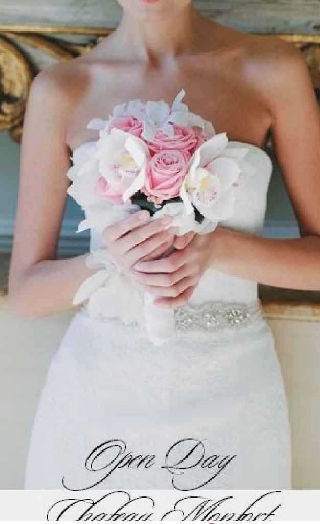 Consigli bouquet con abito a sirena - 1