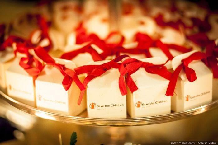 Quali saranno le bomboniere delle tue nozze? Il risultato 3