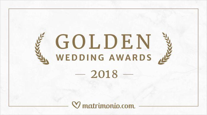 I vincitori della 3ª edizione dei Golden Wedding Awards 🏆 1
