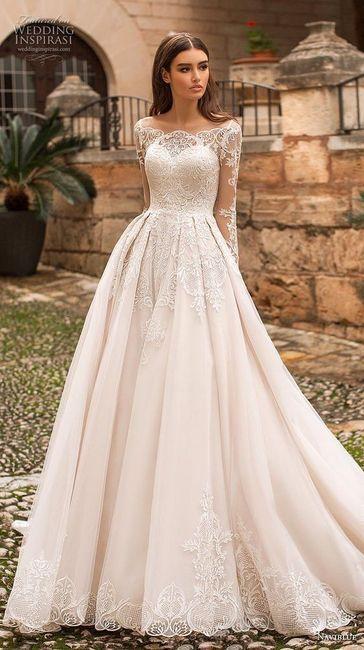 A Naviblu collezione 2019 Scegli l abito da sposa perfetto per ... de7c6f69c0d