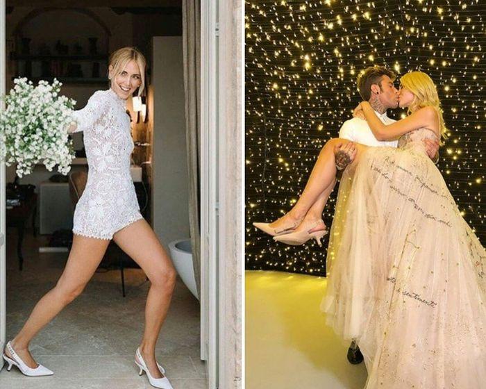 offrire caldo-vendita dal costo ragionevole Chiara Ferragni si sposa: le scarpe del matrimonio - vip ...