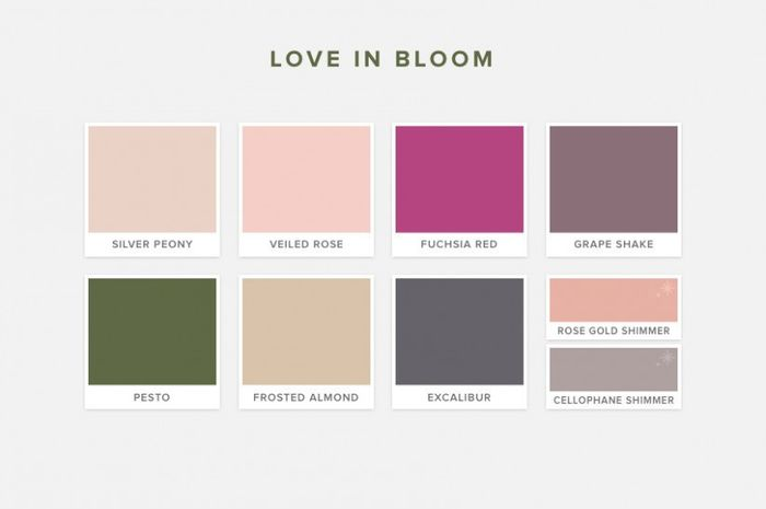 A ogni matrimonio la palette di colori! 1