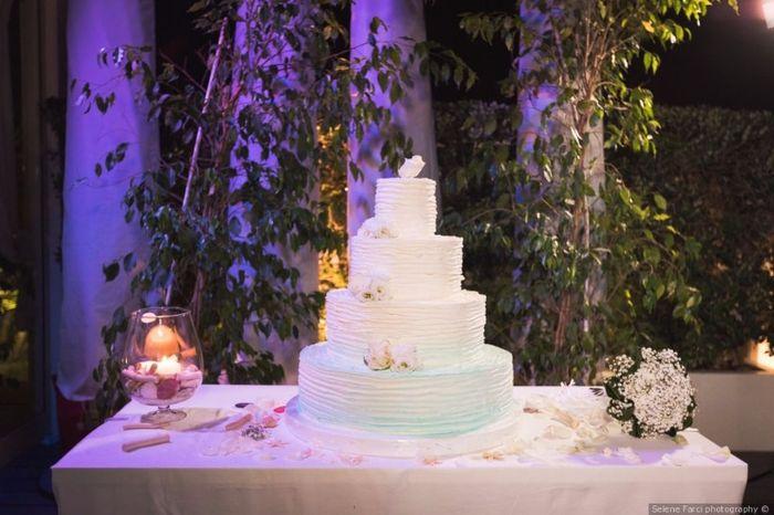 A ogni matrimonio la torta nuziale! 2