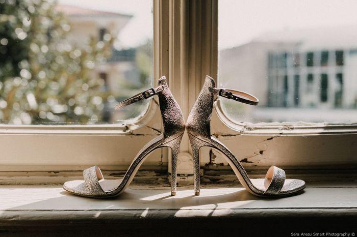 Scarpe da sposa: con tacco a spillo o con tacco comodo? 1