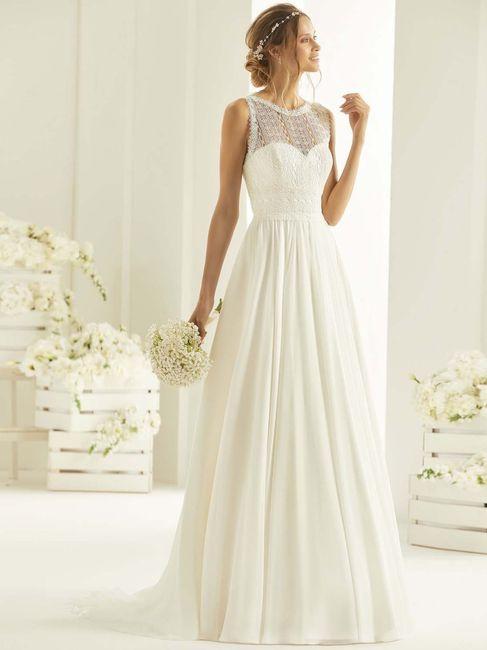 Quale tra questi abiti da sposa preferisci? 1