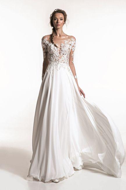 Quale tra questi abiti da sposa preferisci? 3