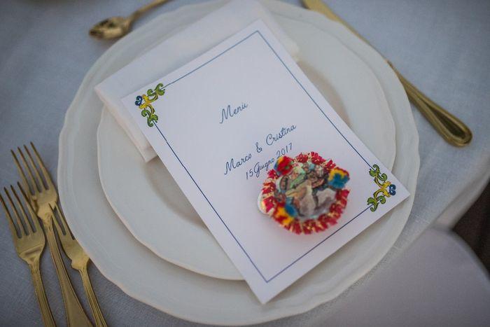 Dubbi sul tema di nozze? Il segnaposto 2