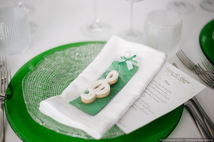 Dubbi sul tema di nozze? Il segnaposto 4