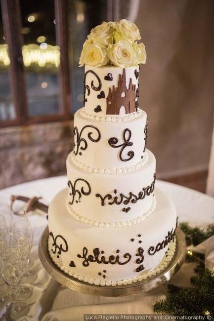 ¿Dudas sobre el tema de tu matrimonio? La torta 3