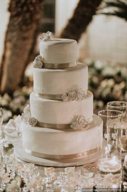 ¿Dudas sobre el tema de tu matrimonio? La torta 4