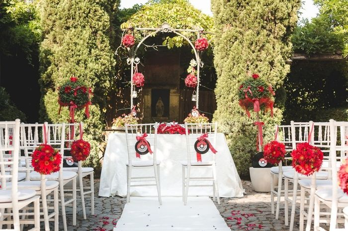 Dubbi sul tema di nozze? L'allestimento 4