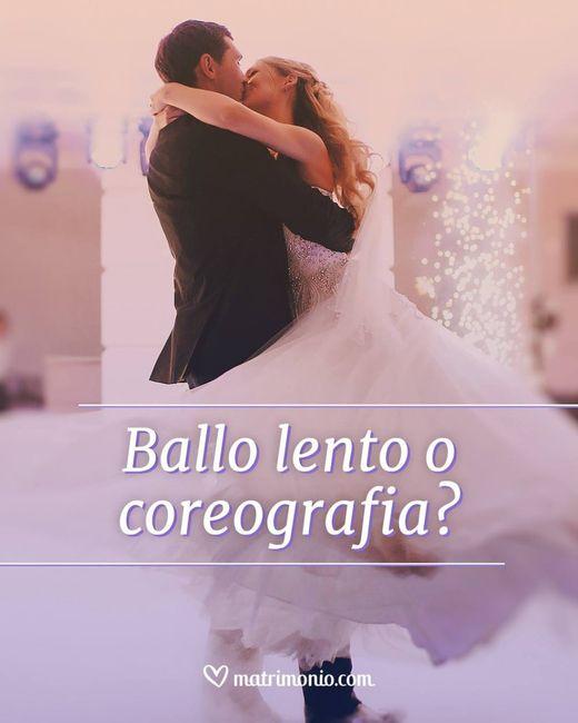 Ballo lento o coreografia? 1