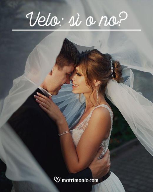 Indosserete il velo da sposa? 1