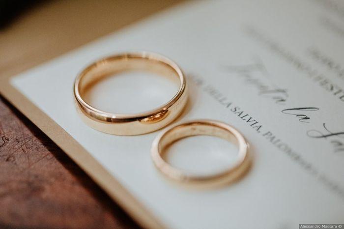 Vota le fedi nuziali per le tue nozze 1