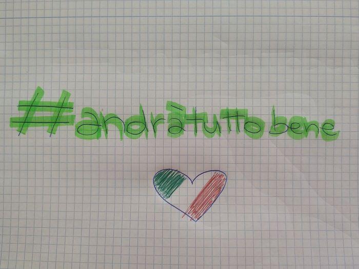 Italia: #andràtuttobene 1