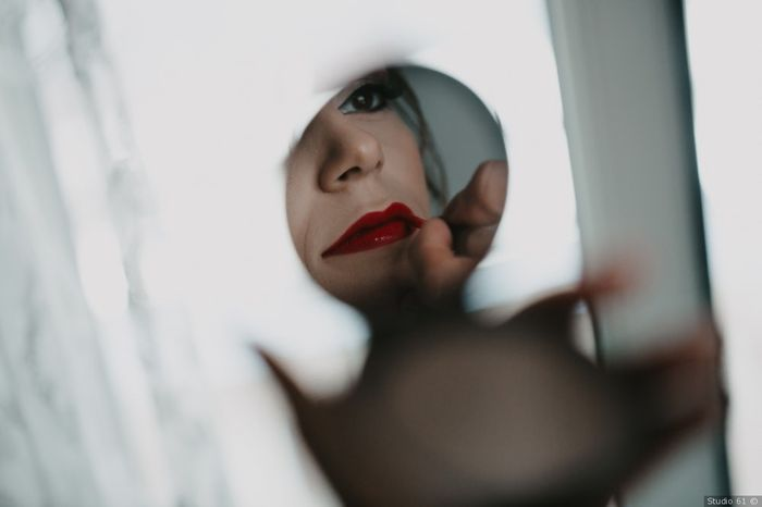 Labbra sposa: rossetto rosso VS nude 1