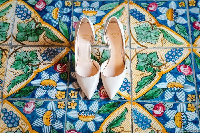 Che tipo di scarpe da sposa indosseresti? 1
