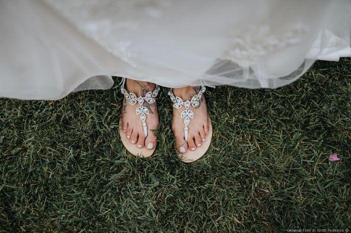 Che tipo di scarpe da sposa indosseresti? 2
