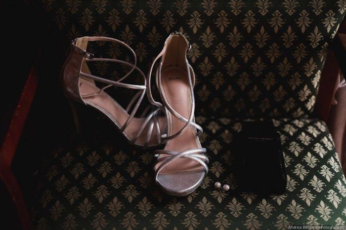 Che tipo di scarpe da sposa indosseresti? 3