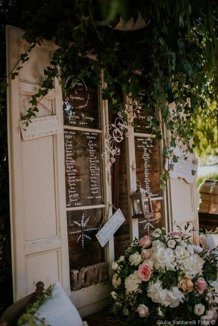 Il tableau de mariage delle tue nozze deve essere... 2