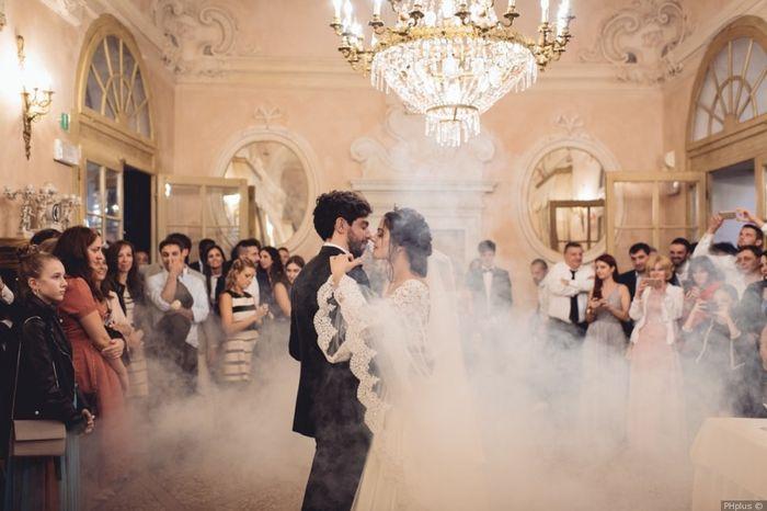 #Instantphoto: il primo ballo degli sposi 1