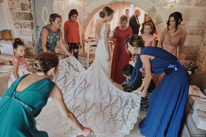 #Instantphoto: l'abito da sposa 2
