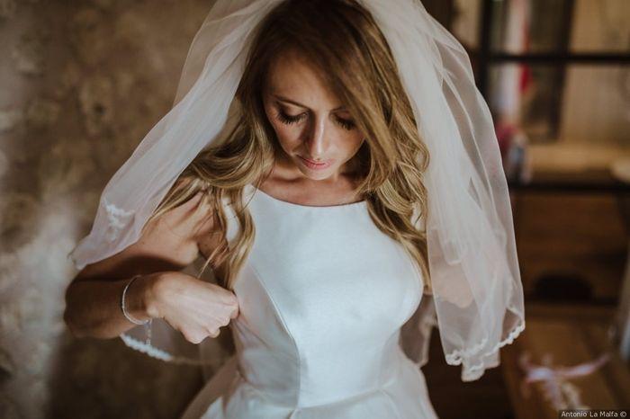 Consigli su come indossare correttamente il velo da sposa 1